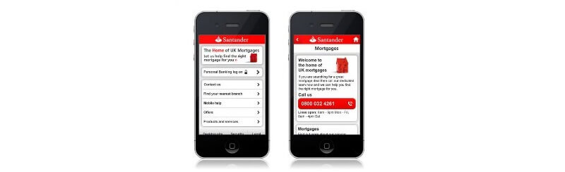 Santander turns to mobile apps to help students