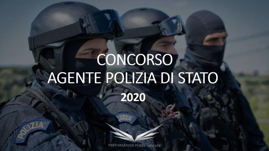 Concorso Agenti di Polizia 2010