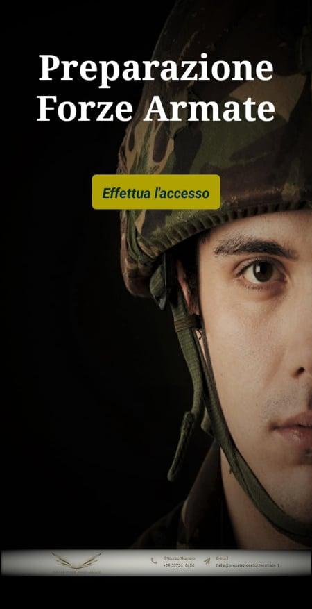 Come memorizzare banche dati concorsi forze armate