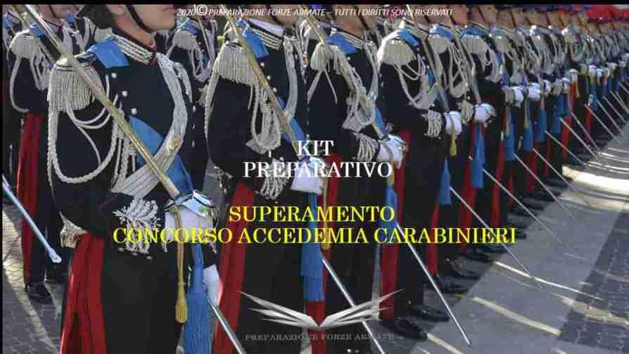 concorsi forze armate 2020
