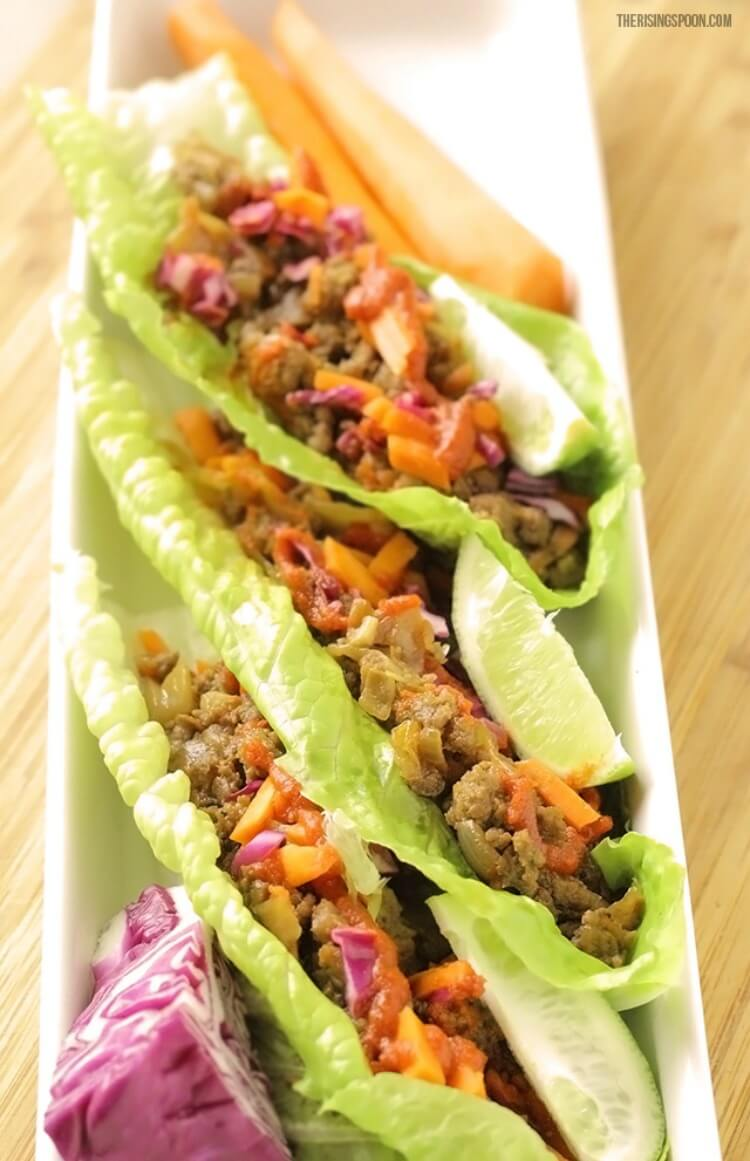 how to make delicious lettuce wraps