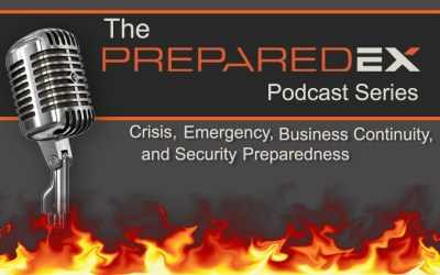 PreparedEx Podcast Epidsode 11 – How Resilient is your Organization? An Interview with Martin Gomberg