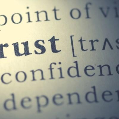 Trusting God vs the other stuff