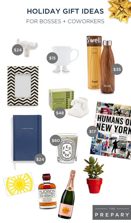 Holiday gift ideas for your boss and coworkers - The Prepary