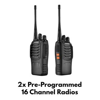 Pair of Baofeng BF-888S Radios