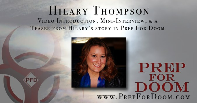 Author Feature Hilary Thompson