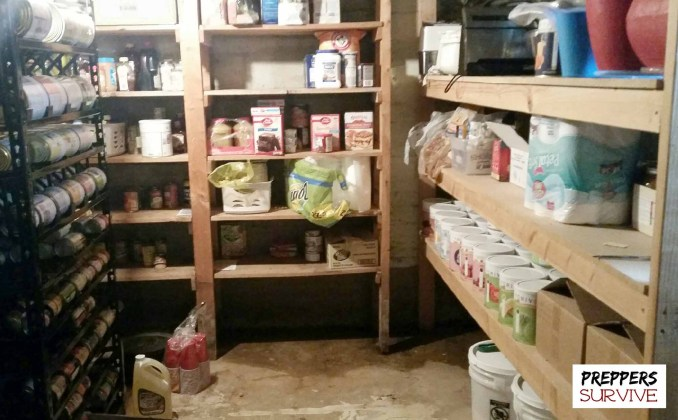 Prepper's Pantry - water on the floor