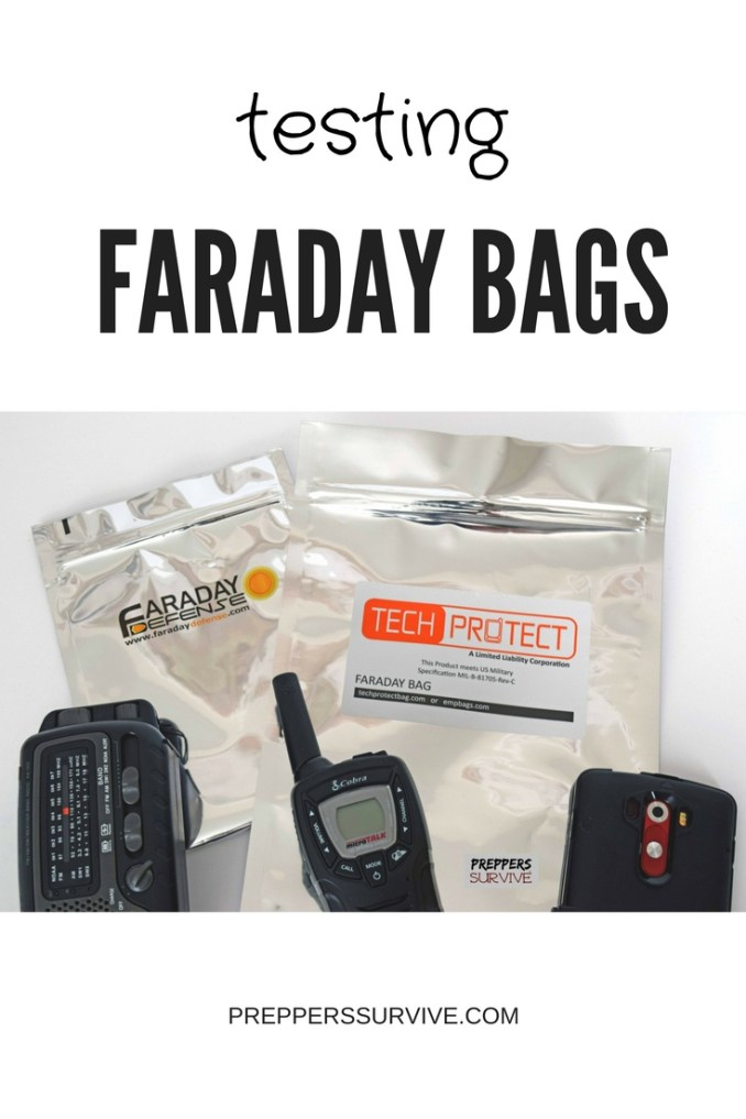 Testing Faraday Bags - Preppers Survive