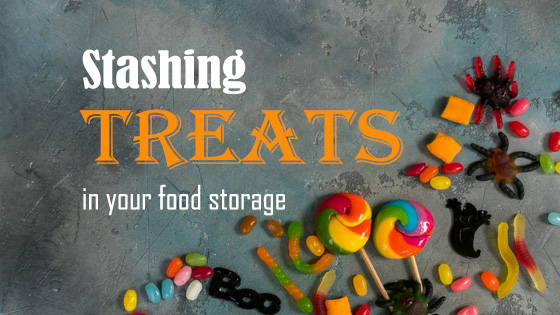 Adding Candy to Food Storage