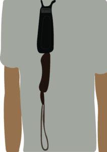 knife necklace self defense