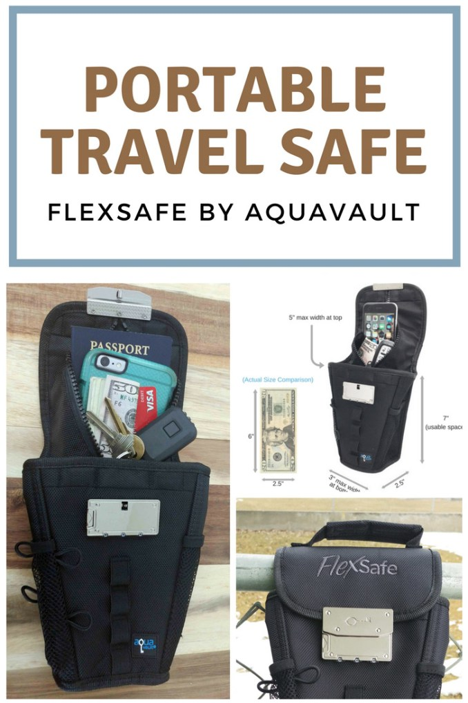Portable Travel Safe - Go Safe - FlexSafe Review - Combo Lock Bag - Slash proof - Preppers Survive