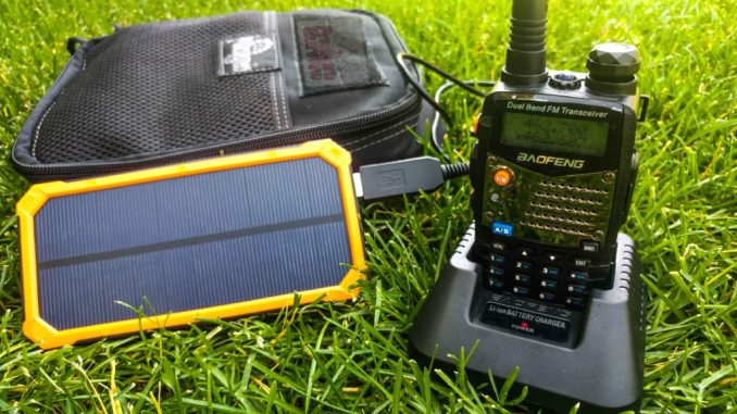 How to Recharge a Ham Radio Offgrid