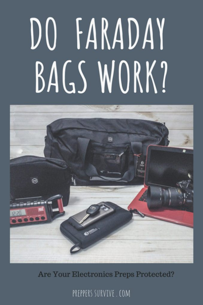 Do Faraday Bags Work - Product Review Mission Darkness Faraday Bags - Signal Blocking Bags - What is an RFID Wallet - Anti-Scan Bag - Portable Faraday Cage