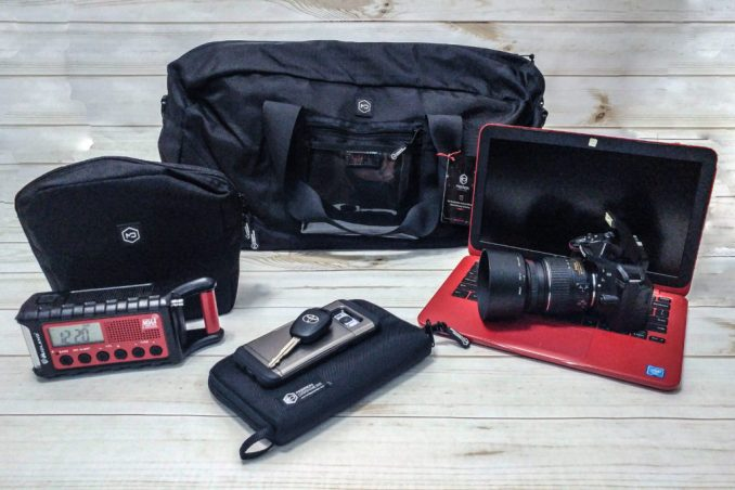 Do Faraday Bags Work - Mission Darkness Faraday Bags Review - Signal Blocking Bags - RFID Wallet - Faraday Duffel Bag - Anti Scan Wallet