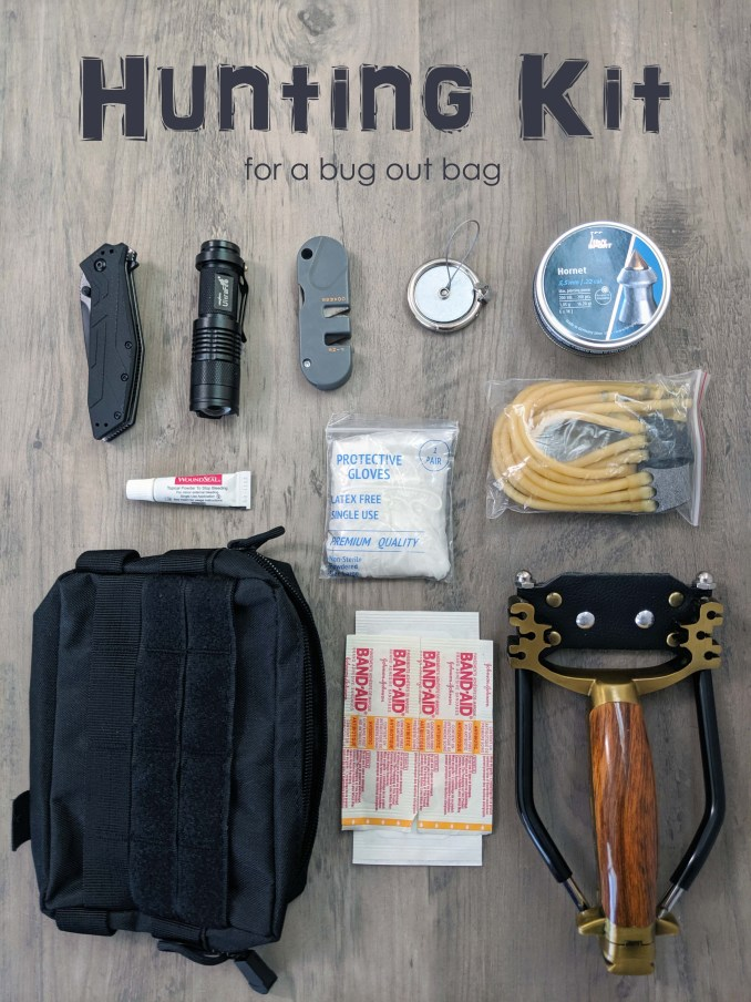 Hunting Kit for Your Bug Out Bag - Preppers Survive