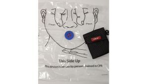 basic first aid kit consists of Disposable Resuscitation Mask