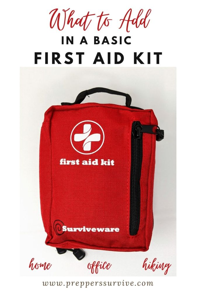first aid kit consists of 14 common items
