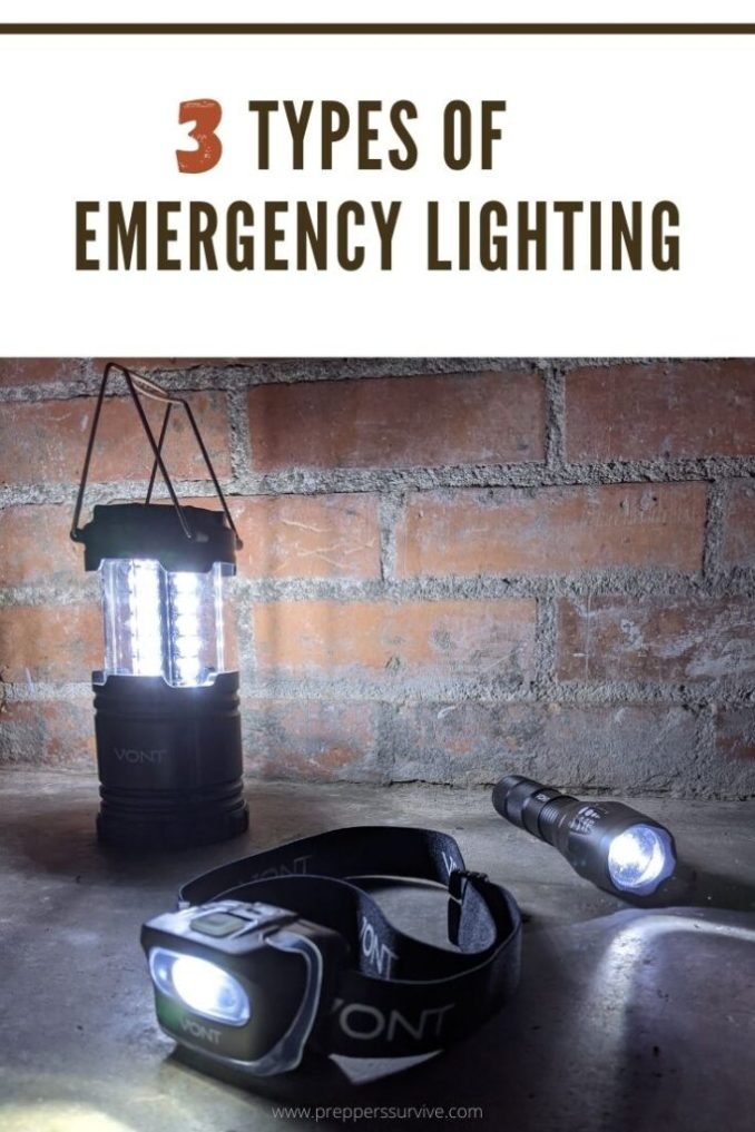 Types of Lighting You'll Want in an Emergency - Vont Lantern, Vont Headlamp, Vont Flashlight - power outage lights