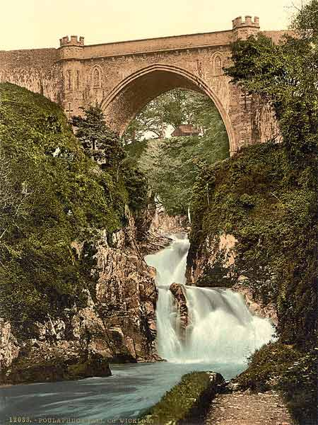 Image result for photochrom ireland photos wicklow poul