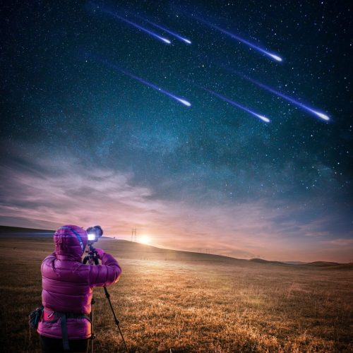 Did you know that shooting stars are actually bits and pieces of a meteor?