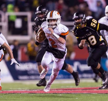 Timpview's Britain Covey had a big second half to lead the Thunderbirds to a third straight state title. (Photo by Dave Argyle, dbaphotography.com)