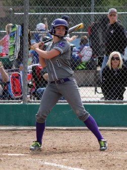 Junior Stefani Zimmerman hit a pair of home runs on the final day of the state tournament for Lehi. (Photo by Kurt Johnson)