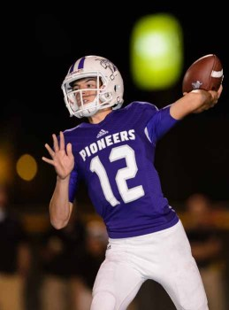 Sophomore QB Cammon Cooper has lit a fire under the Lehi offense. (Photo by Dave Argyle, dbaphotography.com)
