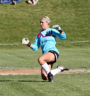 Torri Bills leads the state with 12 saves in 2015. (Photo by Kurt Johnson)