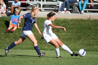 Bella Sorensen sets the tone in the Skyline midfield. (Photo by Kurt Johnson)