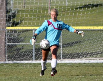 Wasatch goalkeeper Torri Bills is a three-sport star for the Wasps. (Photo by Kurt Johnson)