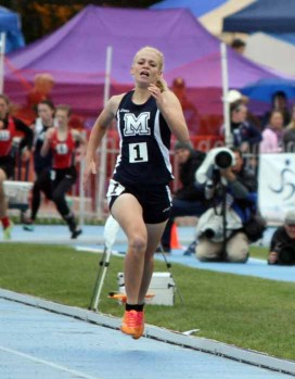 Anna Camp won two fall sports state titles at Millard. (Photo by Kurt Johnson)