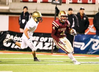 Hartman Rector is the big possession receiver for Logan. (Photo by Kevin McInnis)