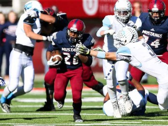 Herriman looks to unleash Jake Jutkins and its trademark running game. (Photo by Kevin McInnis)