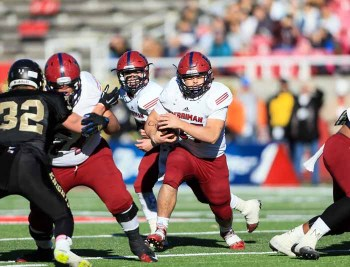 Kaden Strasters picked up a lot of hard yards for Herriman. (Photo by Kevin McInnis)