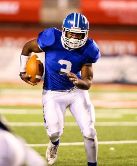 Running back Tre Miller has gone over 1,500 yards each of the last two years. (Photo by Kevin McInnis)