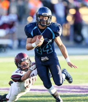 Juan Diego running back Kaden Hayward. (Photo by Kevin McInnis)
