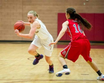 Maple Mountain's Liz Eaton leads the state in scoring. (Photo by Jeff Porcaro, maplemountainsports.com)