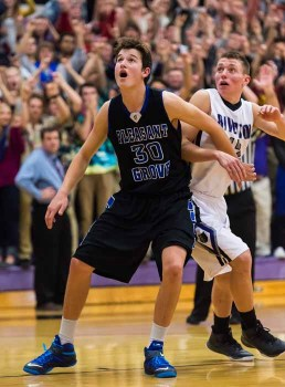 Brody Childs had a huge opening quarter for Pleasant Grove. (Photo by Dave Argyle, dbaphotography.com)