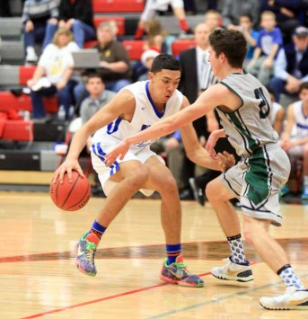 Bingham's Samuta Avea is a complete player. (Photo by Kevin McInnis)