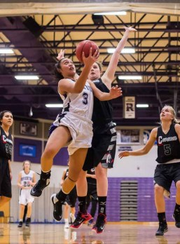 Tiena Afu is closing out a strong career at Riverton. (Photo by Dave Argyle, dbaphotography.com)