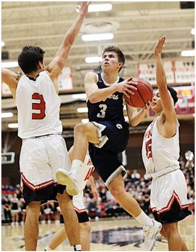 Braxton Coon is a multi-sport star at Corner Canyon. (Photo by Scott G. Winterton, DeseretNews.com)