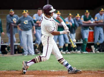 A three-sport athlete at Maple Mountain, Jaren Hall will continue on with two of those at the next level. (Photo by Jeff Porcaro, maplemountainsports.com)