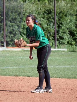 Kacie is the third Allman sister to impact the softball program at Provo High. (Photo by Kurt Johnson)