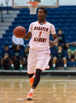 Koby McEwen led Wasatch Academy to a 29-4 season. (Photo by Dave Argyle, dbaphotography.com)
