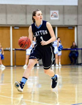 Point guard Sunnie Martinez set a strong tone for unbeaten Layton. (Photo by Kevin McInnis)