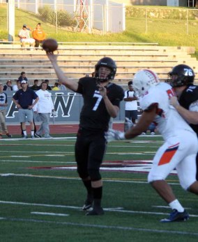 Alta quarterback Will Dana is putting up huge numbers. (Photo by Kurt Johnson)