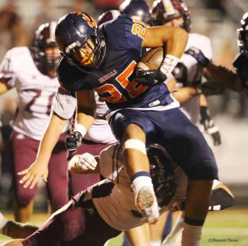Sione Lund will play his college football at Stanford. (Photo by Scott G Winterton, DeseretNews.com)