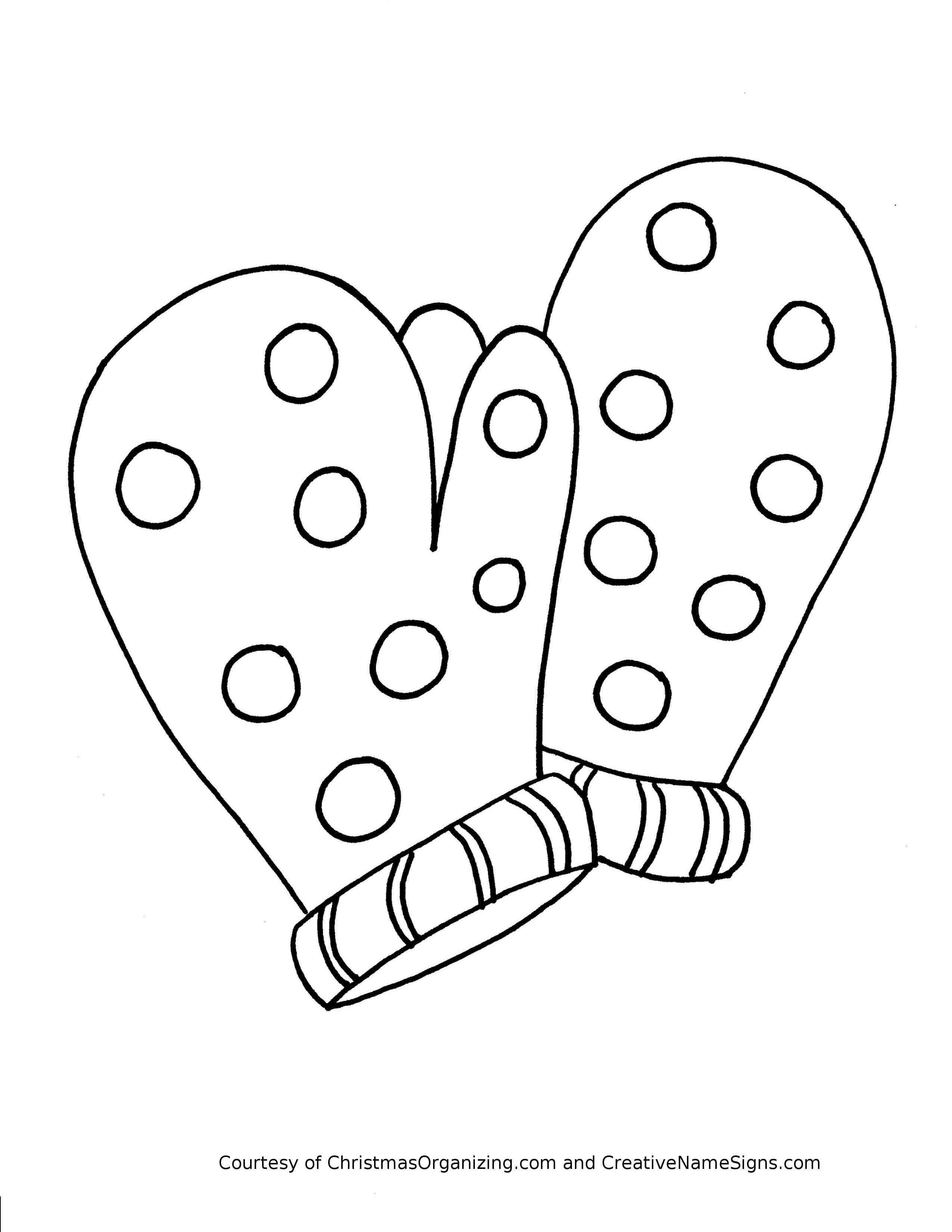 Clothes Coloring Pages Preschool