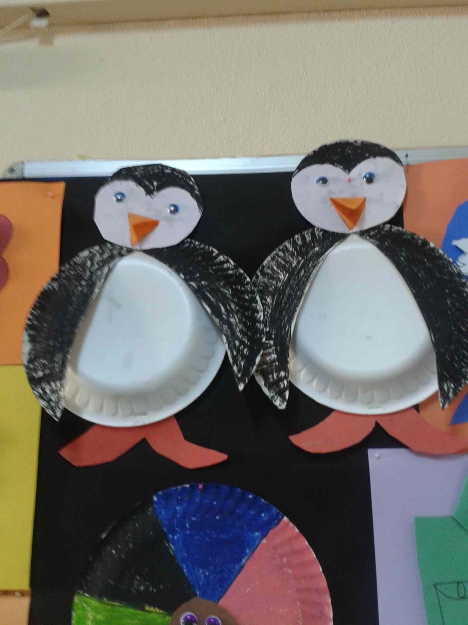 Penguin Paper Plate Craft Amp Add This Paper Plate Penguin