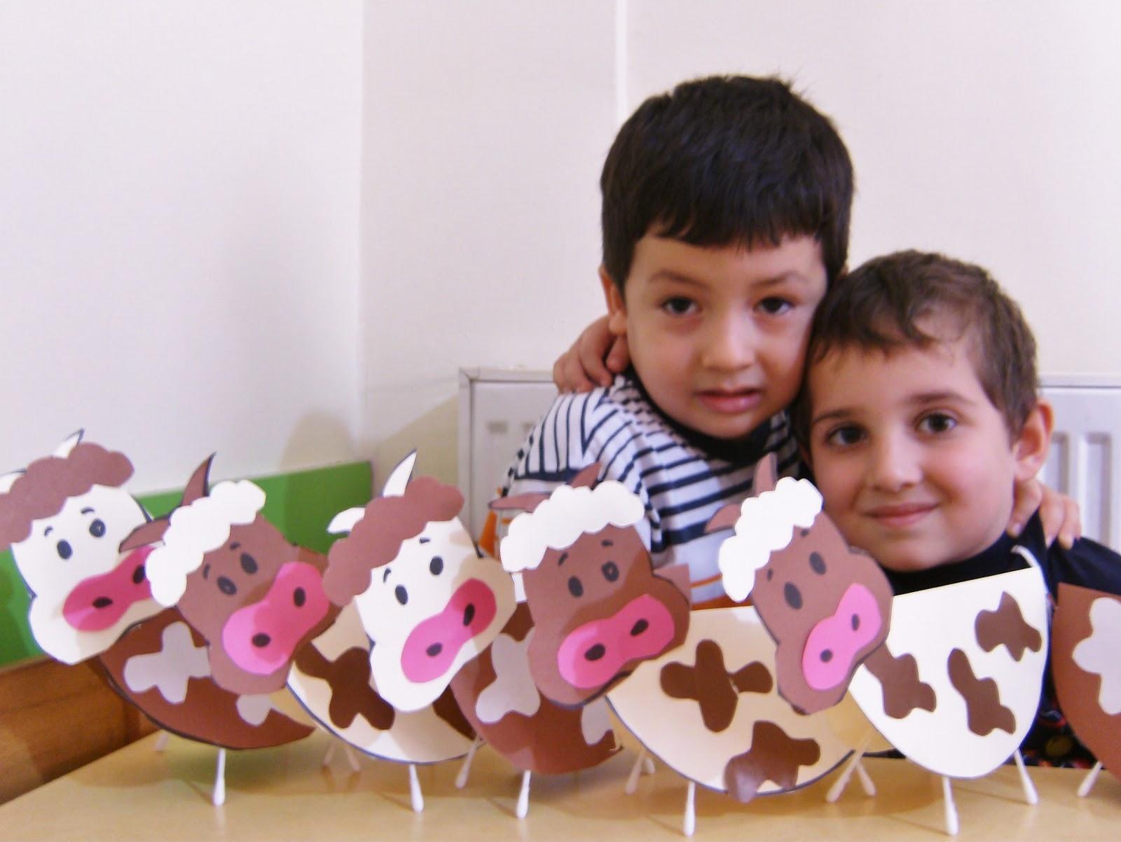 Cow Craft Idea For Kids